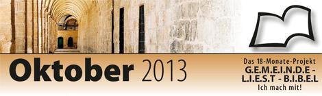 Leseplan 2013 Oktober