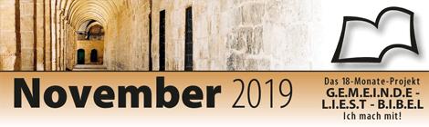 Leseplan 2019 November