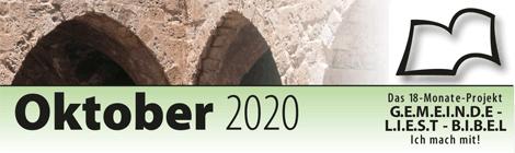 Leseplan 2020 Oktober